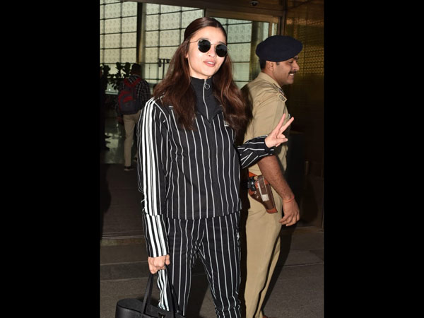Alia Oozes Casual Cool Confidence