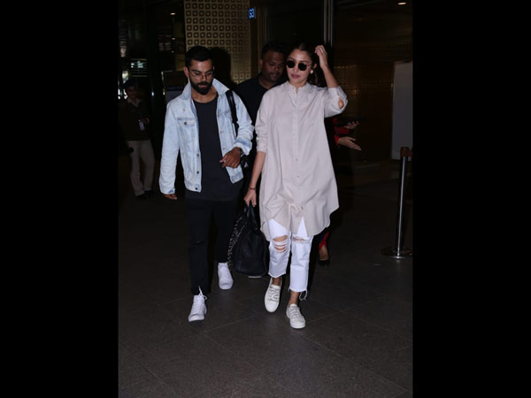 Virushka Return To Mumbai!