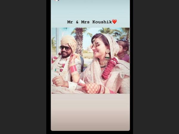 Lovey & Koushik To Have One More Wedding