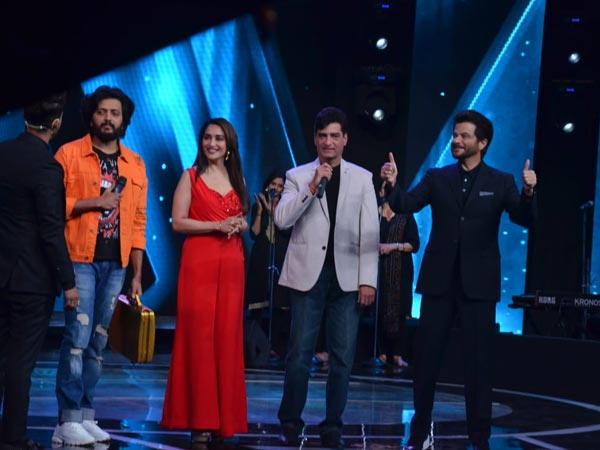 Anil Kapoor & Madhuri Dixit Promote Total Dhamaal On Sa Re Ga Ma Pa Lil Champs