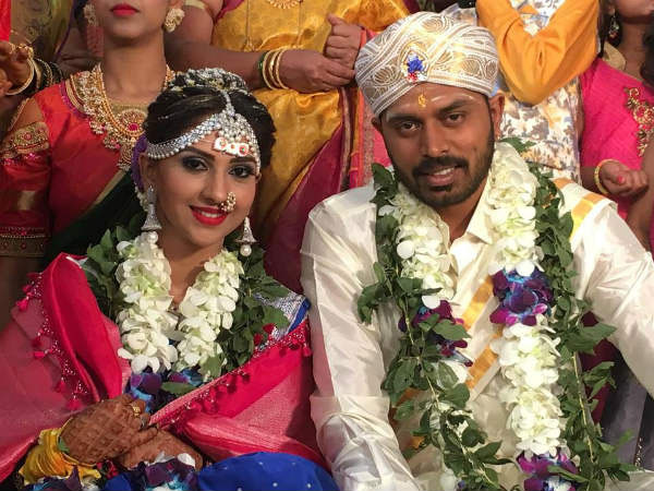Kannada Actress Neha Patil Marries Pranav; Sandalwood Stars Grace The Wedding!