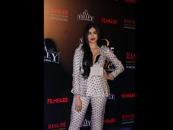 Adah Sharma Suits Up
