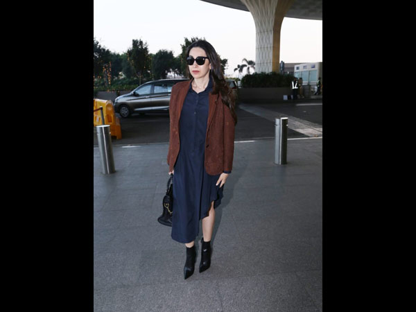 Karishma Kapoor Dons An Effortless Chic Look To The Airport