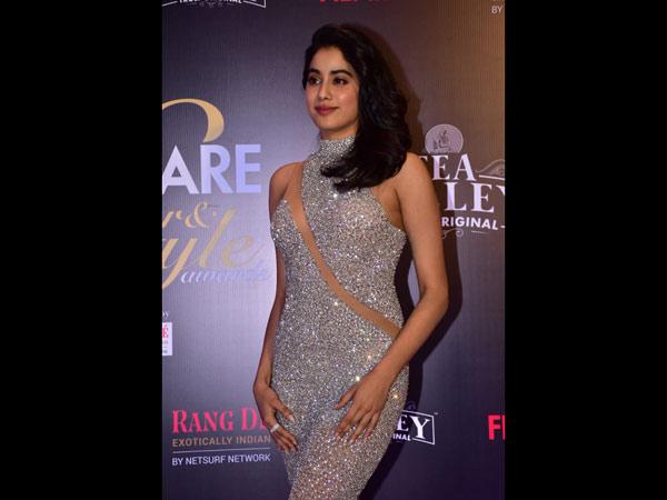 Pictures: Janhvi Kapoor, Kajol, Preity Zinta Turn Up The Heat At Filmfare Glamour Awards
