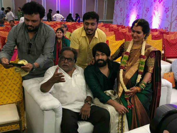 Yash-Radhika's Baby Girl Receives A Special Gift From Ambareesh; A Cradle Worth Rs 1.2 Lakh!