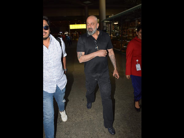 Sanjay Dutt Also Spotted At The Airport