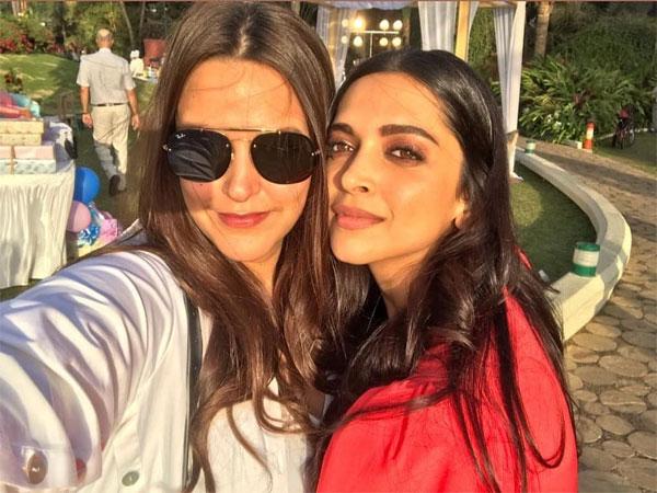 Deepika With Neha