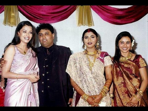 Iswarya Rai Wedding.When Aishwarya Rai Bachchan Attended Rani Mukerji Brother Wedding