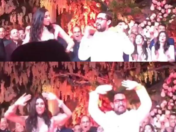 Ambani Swiss bash: Chris Martin, Chainsmokers perform; Shloka dances with Aamir Khan
