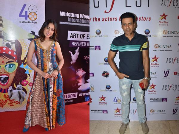 Sara Ali Khan, Manoj Bajpayee & Other Celebs Grace CINTAA Act Fest