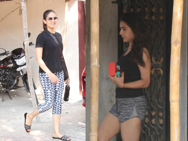 Pics! Sara Ali Khan And Mira Rajput Hit The Gym On Saturday Afternoon