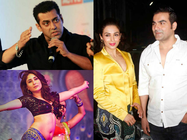 Salman & Arbaaz Khan Miffed With The Divorce, Hence Kareena Kapoor's Re-entry?