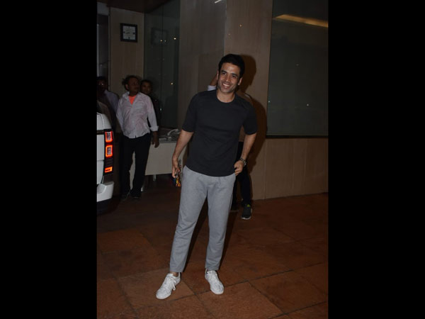 Tusshar Kapoor Is All Smiles At Baby Ravie's Naming Ceremony