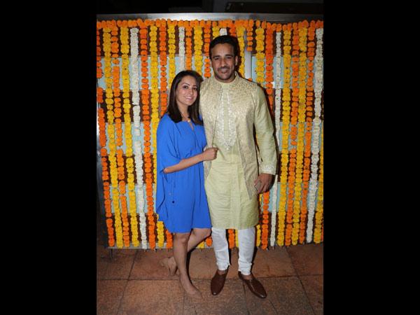 Rohit & Anita Pose Together