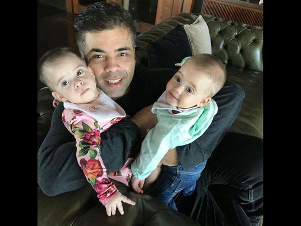 Karan Johar Hits Back At A Troll Accusing Him Of Keeping His Kids Away From Mother's Love!