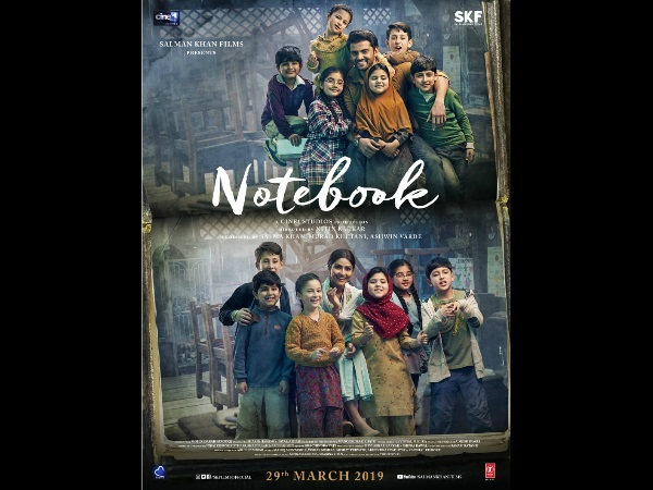 Salman Khan Drops A New Poster Of Zaheer Iqbal- Pranutan Bahl's 'Notebook'