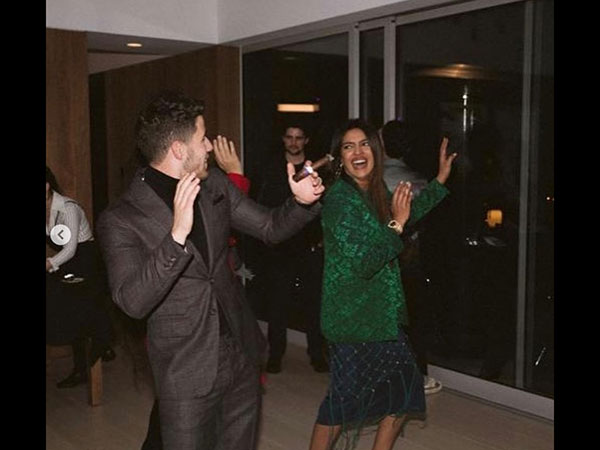 Priyanka Gets Groovy With Her Man