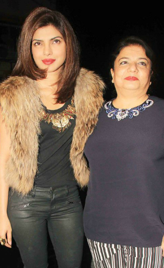 Madhu Chopra Reacts To Priyanka's 'Baby Bump' Photos!