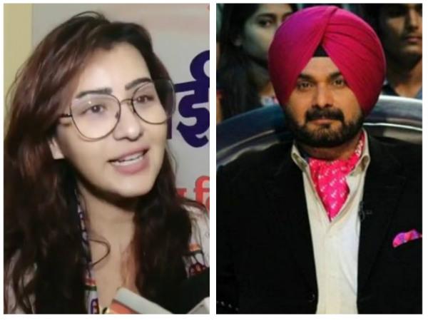 Shilpa Supports Sidhu