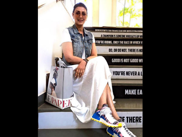 Sonali Bendre Is Back In Action