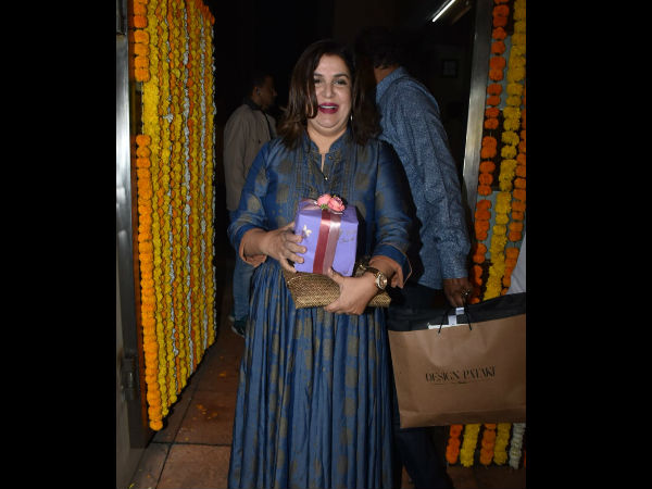 Farah Khan Attends The Ceremony