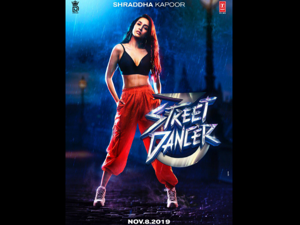Shraddha Kapoor's Look From Street Dancer