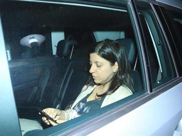 Zoya Akhtar Attends Gully Boy Screening At YRF