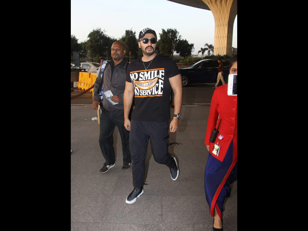 Arjun Kapoor Was Also Spotted At The Airport