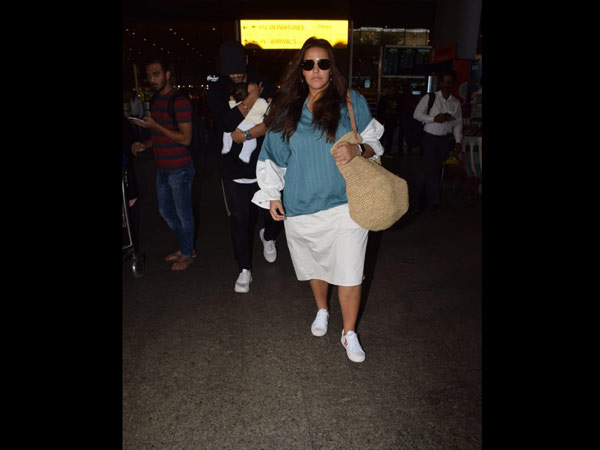 Neha Dhupia Travels With Her Sweet Family