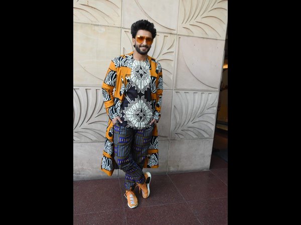 Ranveer's Quirk Style Quotient Knows No Bounds