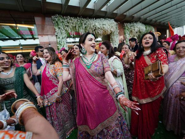 Inside Pictures | Akash Ambani & Shloka Mehta's Wedding Was