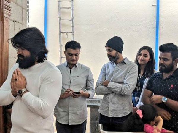 KGF Team Seeks Blessings!