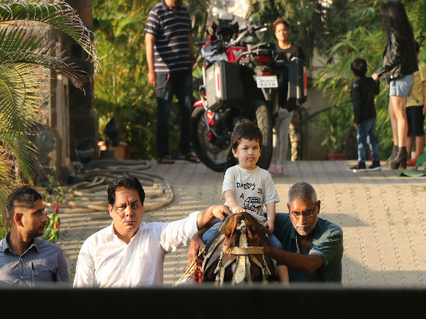 Taimur's Sunday Horse Riding Lessons