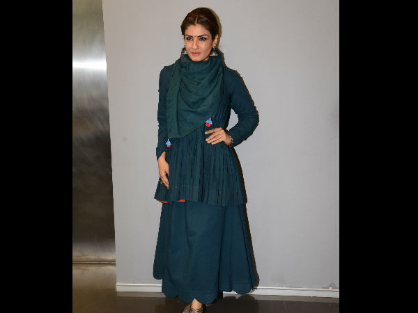 Raveena Tandon Was A Key Note Speaker At The ITCH Summit