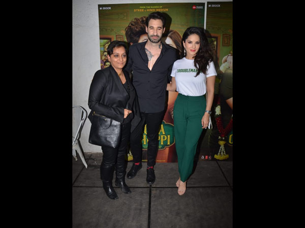 Sunny Leone & Her Hubby Daniel Weber Attend The Bash