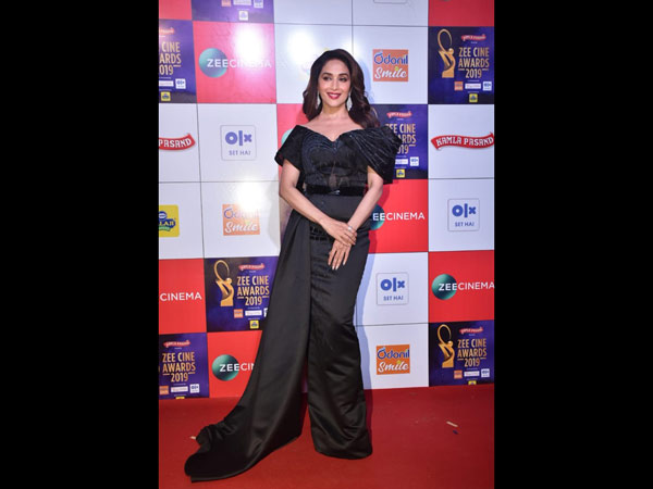 Madhuri Dixit Looked Surreal In A Black Gown
