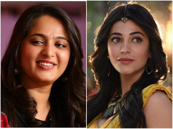 Anushka Shetty Shruti Haasan Be Part This Big Budget Project