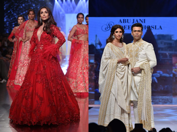 Pictures Malaika Arora Shweta Nanda Karan Johar Other Celebs Look Fabulous On The Ramp