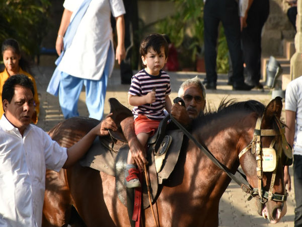 Taimur Is Taking His Horse Riding Lessons Seriously