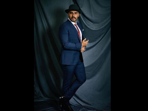 Arjun Kapoor Looks Suave In Pinstripes