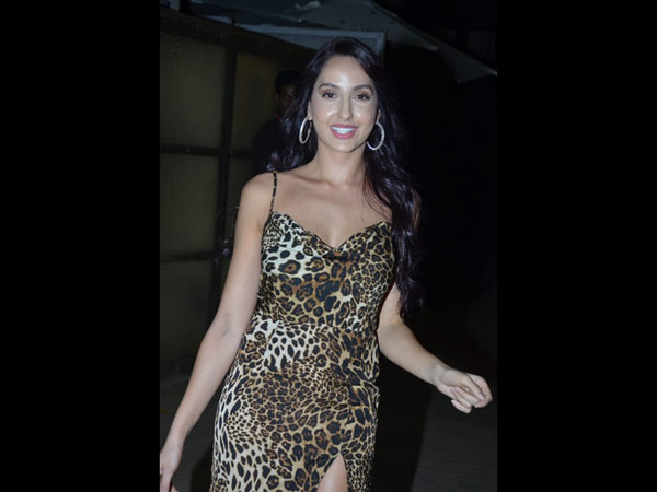 Nora Fatehi Also Attends The Bash