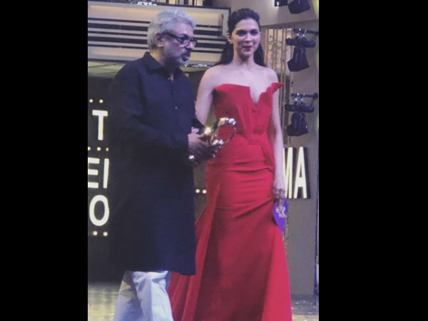 Mr Bhansali With His Muse