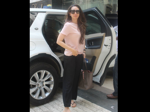 Karishma Kapoor Snapped Out And About In The City