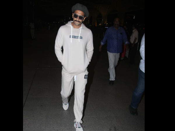 Ranveer Looks Cool In A Casual Avatar