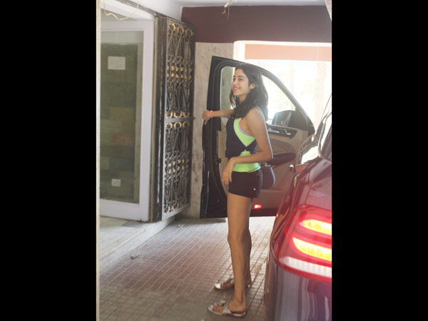 Janhvi Kapoor's Tuesday Gym Look