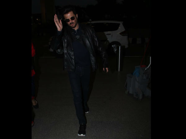 Anil Kapoor Sports An All Black Look