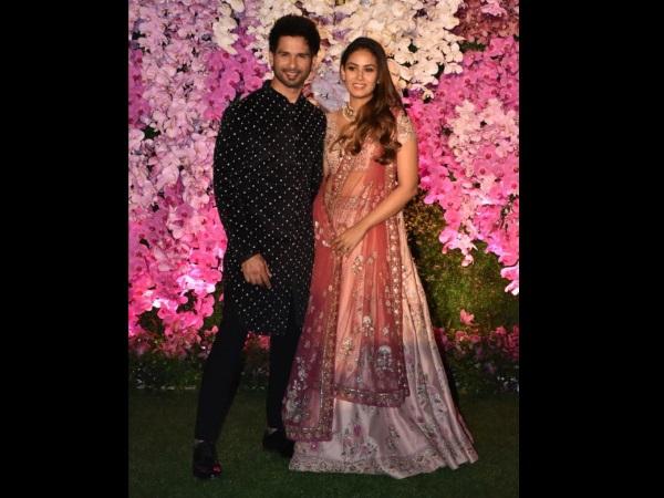 Shahid Kapoor-Mira Rajput, Malaika Arora, Kriti Sanon Dazzle At Akash Ambani's Wedding Reception!
