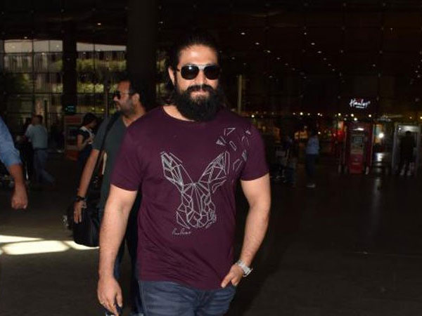 Yash Spotted At Mumbai Airport! Was It To Finalise Bollywood Cast For KGF Chapter 2?