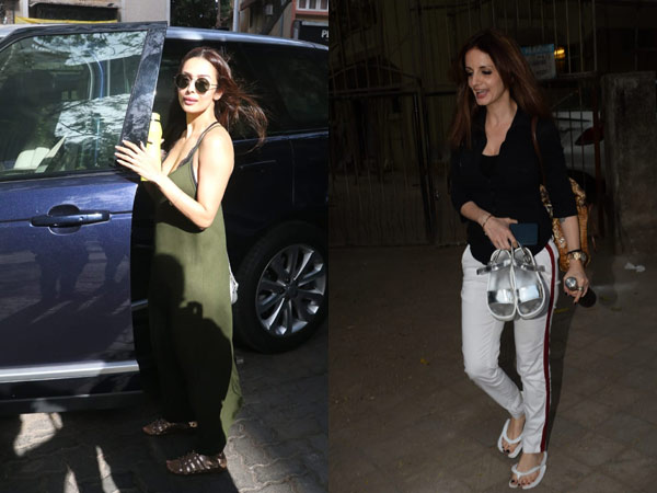 Malaika Arora And Sussanne Khan Look Like Divas After A Salon Session: See Pics!