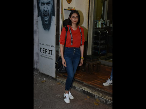 Aditi Snapped After Salon Session